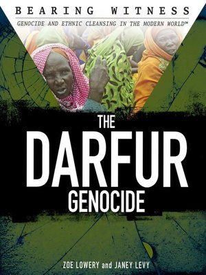 cover image of The Darfur Genocide