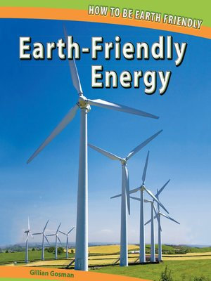 cover image of Earth-Friendly Energy