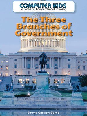 cover image of The Three Branches of Government