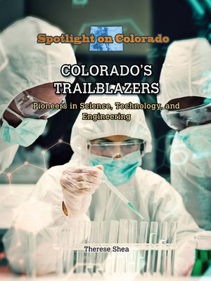 cover image of Colorado's Trailblazers