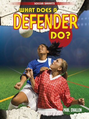 cover image of What Does a Defender Do?