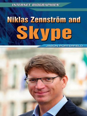 cover image of Niklas Zennström and Skype