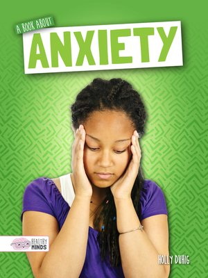 cover image of A Book About Anxiety