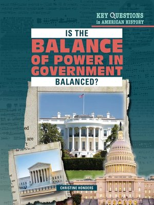 cover image of Is the Balance of Power in Government Balanced?