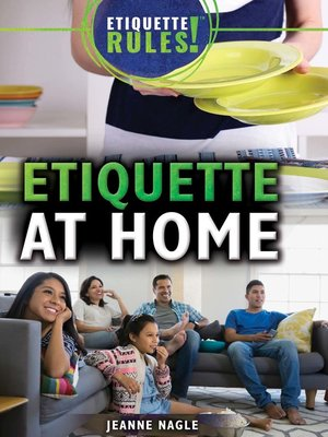 cover image of Etiquette at Home