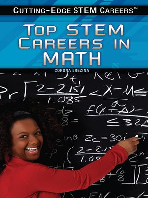 cover image of Top STEM Careers and Business in Math