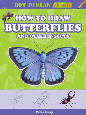 cover image of How to Draw Butterflies and Other Insects