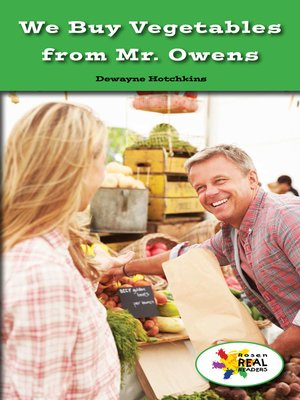 cover image of We Buy Vegetables from Mr. Owens