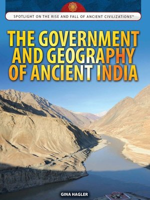cover image of The Government and Geography of Ancient India