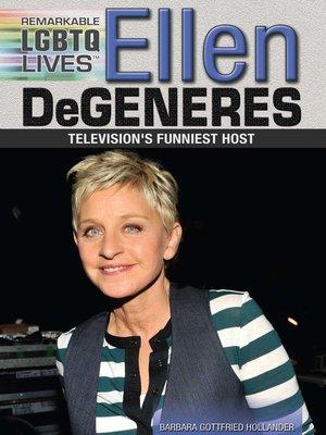 cover image of Ellen DeGeneres
