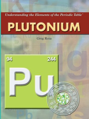 cover image of Plutonium