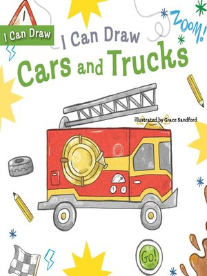 cover image of I Can Draw Cars and Trucks
