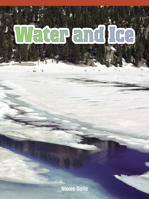 cover image of Water and Ice