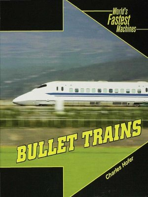 cover image of Bullet Trains