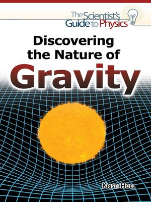 cover image of Discovering the Nature of Gravity