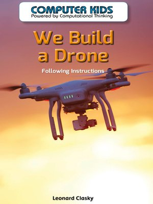 cover image of We Build a Drone
