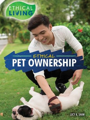 cover image of Ethical Pet Ownership