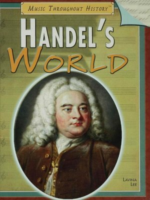 cover image of Handel's World