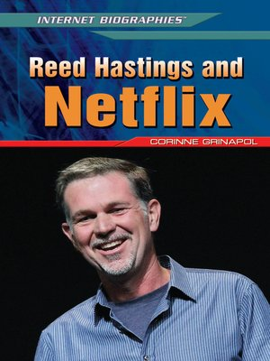 cover image of Reed Hastings and Netflix