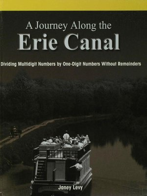 cover image of A Journey Along the Erie Canal