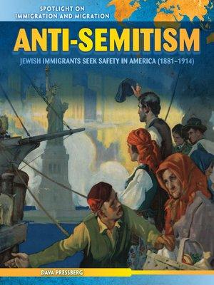 cover image of Anti-Semitism