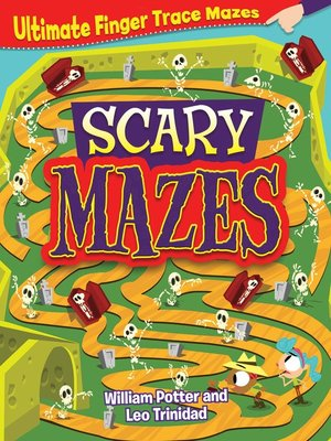 cover image of Scary Mazes