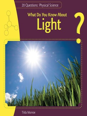 cover image of What Do You Know About Light?