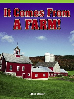 cover image of It Comes From a Farm!