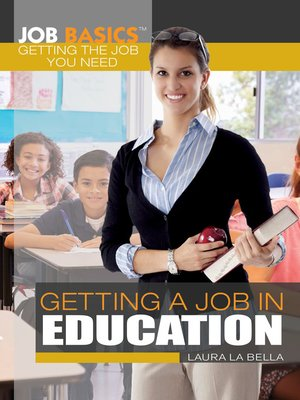 cover image of Getting a Job in Education