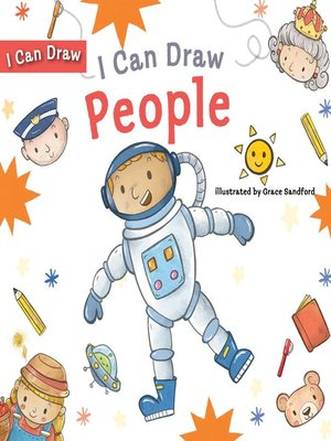 cover image of I Can Draw People