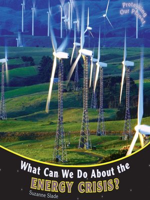 cover image of What Can We Do About the Energy Crisis?