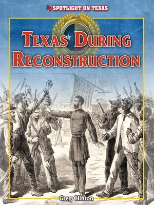 cover image of Texas During Reconstruction