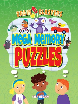 cover image of Mega Memory Puzzles