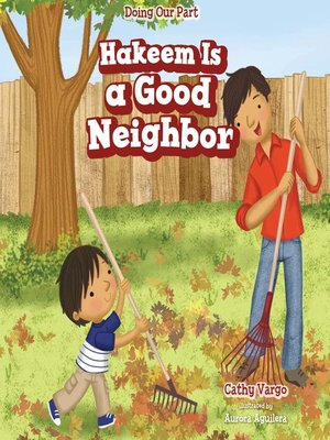 cover image of Hakeem Is a Good Neighbor