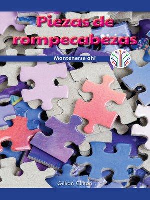 cover image of Piezas de rompecabezas: Mantenerse ahí (Puzzle Pieces: Sticking to It)