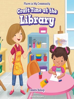 cover image of Craft Time at the Library