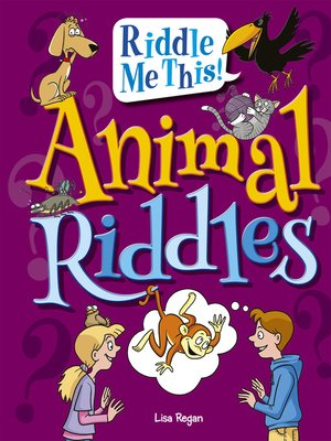 cover image of Animal Riddles