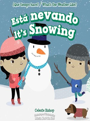 cover image of Está nevando / It's Snowing