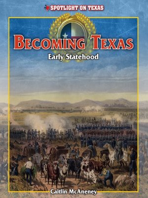 cover image of Becoming Texas