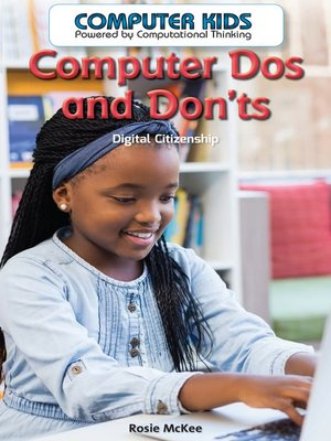cover image of Computer Dos and Dont's