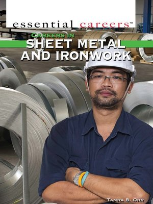 cover image of Careers and Business in Sheet Metal and Ironwork