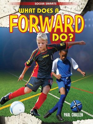 cover image of What Does a Forward Do?