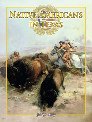 cover image of Native Americans in Texas