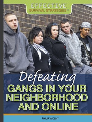 cover image of Defeating Gangs in Your Neighborhood and Online
