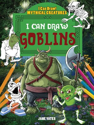 cover image of I Can Draw Goblins