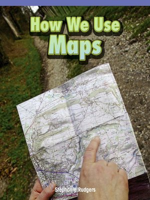 cover image of How We Use Maps
