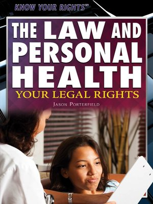 cover image of The Law and Personal Health