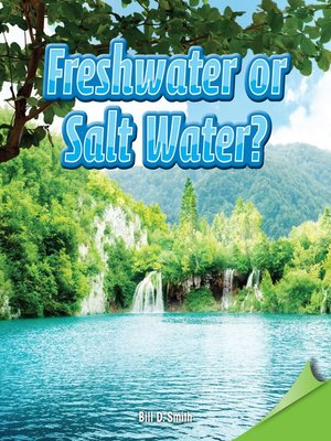 cover image of Freshwater or Salt Water?