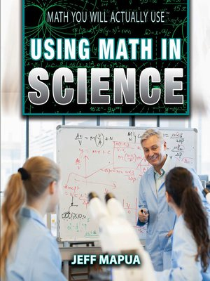 cover image of Using Math in Science