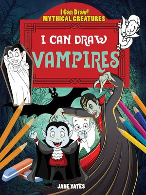 cover image of I Can Draw Vampires
